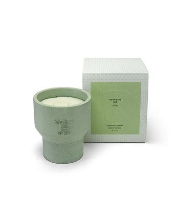 Cement Collection No. 1 Роскошная соевая свеча ручной заливки Reisfields NYC