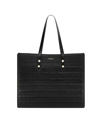 Женская сумка-тоут с капюшоном и плетением Fiorelli