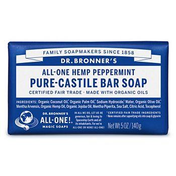 Dr. Bronner's Castille Bar Soap - Peppermint Dr. Bronner's