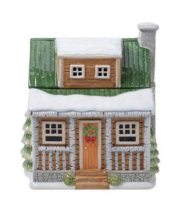 Зимний лес 3D Cookie Jar Lodge Certified International