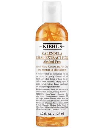 Calendula Herbal-Extract безалкогольный тонер, 4.2 унции. Kiehl's Since 1851