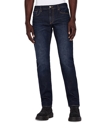 Джинсовые мужские облегающие джинсы Armani Exchange