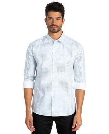 Спортивная рубашка с длинными рукавами Dot Print Jared Lang