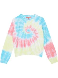 Tie-Dye Crew Neck Sweater (Big Kids) Blank NYC Kids