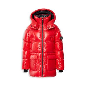 Little Kid's & amp; Детская куртка-пуховик Mackage