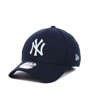Нью-Йорк Янкиз MLB Team Classic 39THIRTY кепка в стрейч New Era