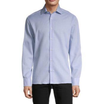 Фактурная рубашка добби Bertigo