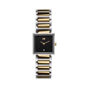 Золотые двухцветные часы с браслетом из нержавеющей стали Frost Winter MVMT