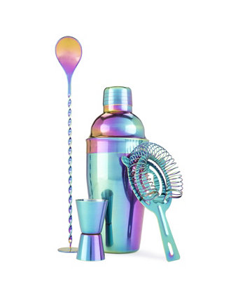 Набор посуды Blush Mirage Rainbow Barware True Brands