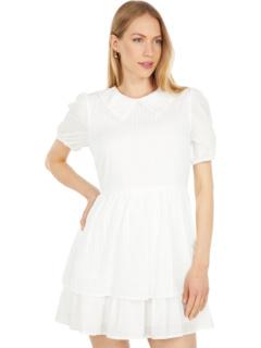 Мини-платье с короткими рукавами Coconut Vine LOST + WANDER