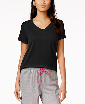 Однотонная футболка Sleep с короткими рукавами HUE