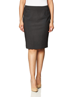 Straight Fit Suit Skirt (Regular and Plus Sizes) Calvin Klein