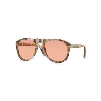 Солнцезащитные очки-пилоты Persol x JW Anderson 54MM Persol
