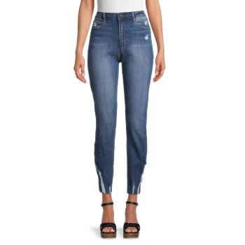 Рваные прямые джинсы Rene с высокой посадкой Articles of Society
