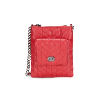 Kosette Quilted Leather Crossbody Bag Karl Lagerfeld Paris