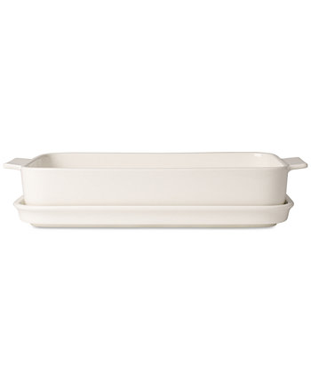 Большая тарелка для лазаньи с крышкой Pasta Passion Villeroy & Boch