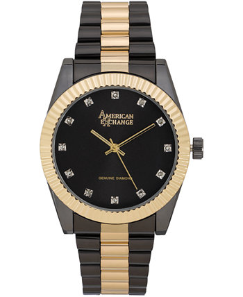 Мужские подлинные часы Diamond Collection, 41мм American Exchange