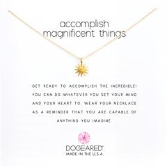 """Ожерелье великолепных вещей 16 """" Dogeared"""