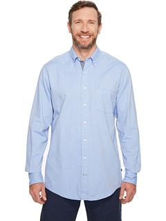 Рубашка Big & Tall The Hitch с длинными рукавами из оксфорда Nautica Big & Tall