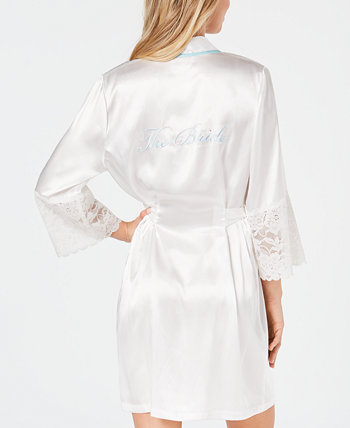 Короткая атласная накидка The Bride Linea Donatella
