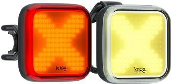 Передний и задний велосипедный фонарь Blinder X Twinpack Knog