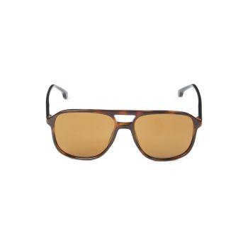 Солнцезащитные очки-авиаторы 56 мм Carrera