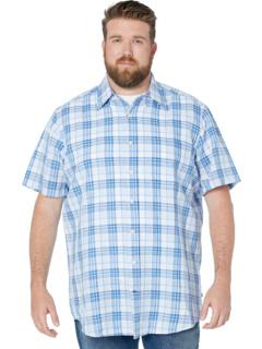 Классическая льняная рубашка в клетку Big & Tall Nautica Big & Tall
