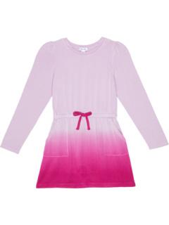 Супер мягкое платье с длинным рукавом Dip-Dye (для больших детей) Splendid Littles