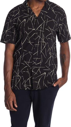 Рубашка с короткими рукавами Abstract Lines Toscano