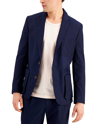 INC Men's Slim-Fit Safari Blazer, Created for Macy's INC International Concepts