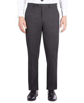 Мужской темно-серый костюм в клетку классического кроя Отдельные брюки Sean John