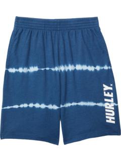 Френч терри шорты с принтом тай-дай (для больших детей) Hurley Kids