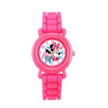 Детские розовые часы для учителей времени в горошек Disney's Minnie Mouse в горошек Licensed Character