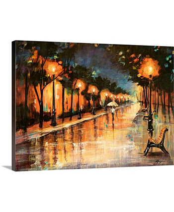 "24 дюйма x 18 дюймов ""Halos In The Rain"" Фаррелла Дугласа Картины на холсте GreatBigCanvas"