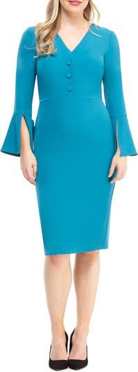 Libby Bell Sleeve Dress Maggy London