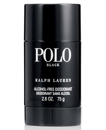 Мужская черная футболка-дезодорант Polo 2.6 унции Ralph Lauren