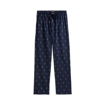 Фирменные пижамные брюки с пони Ralph Lauren