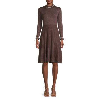 Платье-свитер со складками Nanette nanette lepore