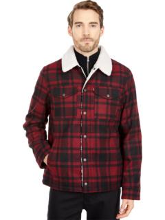 Куртка Trucker из смесовой шерсти с подкладкой из шерпы Levi's®