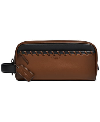Men's Whipstitched Leather Travel Kit COACH