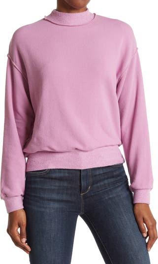 Пышный свитер с воротником-стойкой ALL IN FAVOR