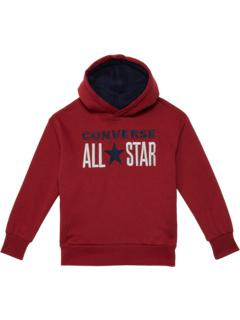 Пуловер с капюшоном All Star Sherpa (Big Kids) Converse Kids