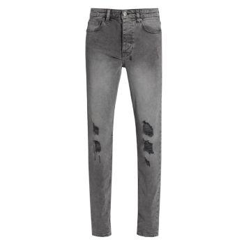 Рваные зауженные джинсы Chitch Ksubi