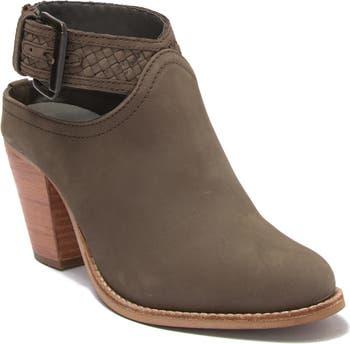 Eva Leather Ankle Boot Crevo