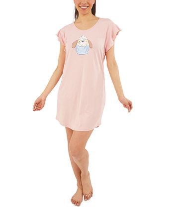 Рубашка для сна и резинки для волос Pupcake Munki Munki
