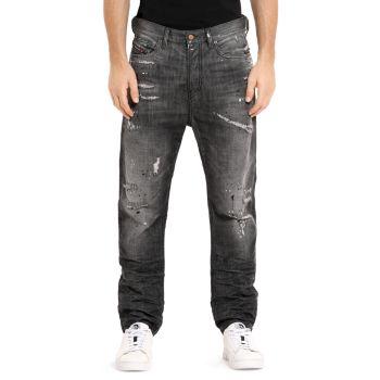 Прямые потертые джинсы приталенного кроя Vider Diesel