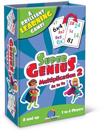 Супер Гений - Умножение 2 Blue Orange Games