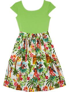 Платье Maddy Hula для девочек (малыши / маленькие дети / дети старшего возраста) Fiveloaves twofish
