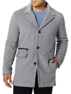 Мужское пальто из смесовой шерсти и кашемира Calvin Klein Calvin Klein