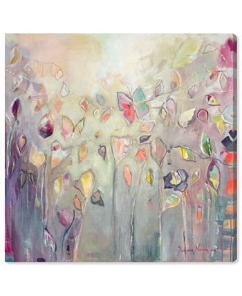 «Танец бабочки». Автор: Микаэла Нессим. Картина на холсте - 20 дюймов x 20 дюймов x 1,5 дюйма Oliver Gal